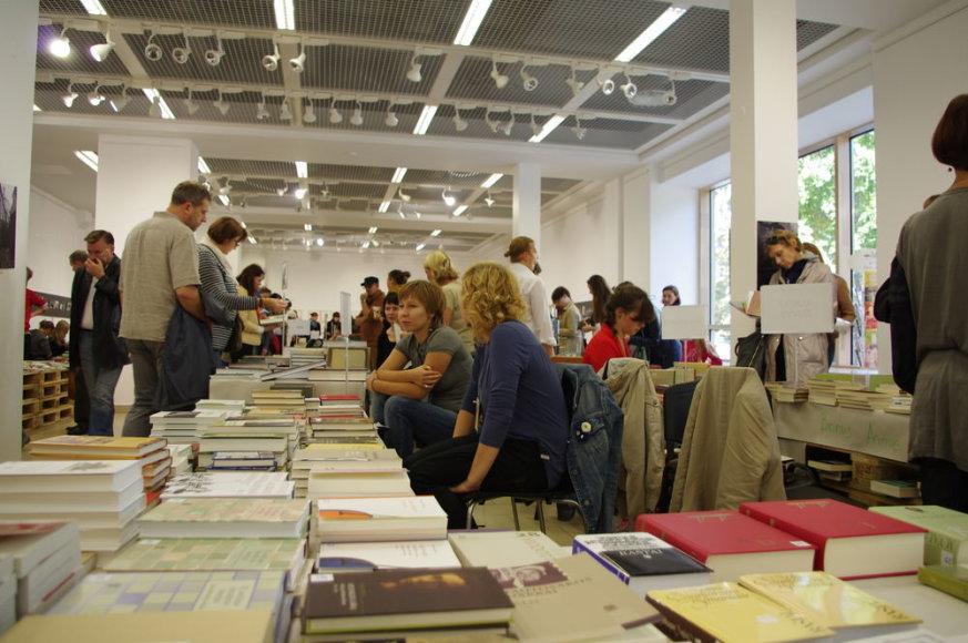 Akimirka iš Vilniaus knygų festivalio