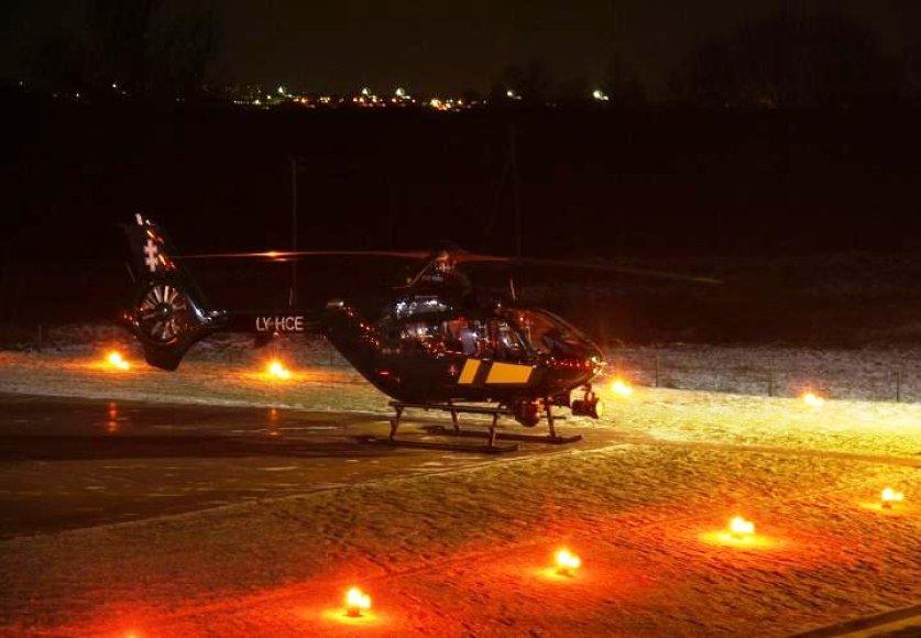 """Sraigtasparnis """"Eurocopter 135"""""""