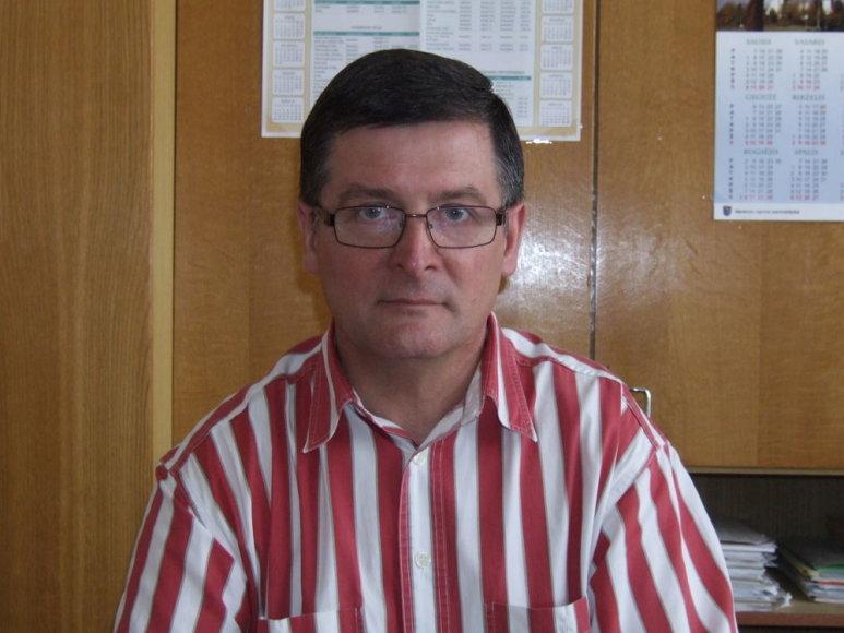 Senosios Varėnos A.Ryliškio vidurinės mokyklos direktorius Gintautas Bendorius