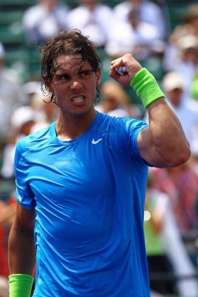 Rafaelis Nadalis Majamyje siekia pirmo titulo