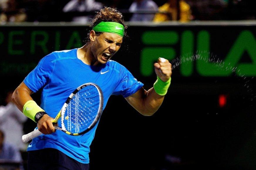 Rafaelis Nadalis Majamyje siekia pirmo čempiono titulo