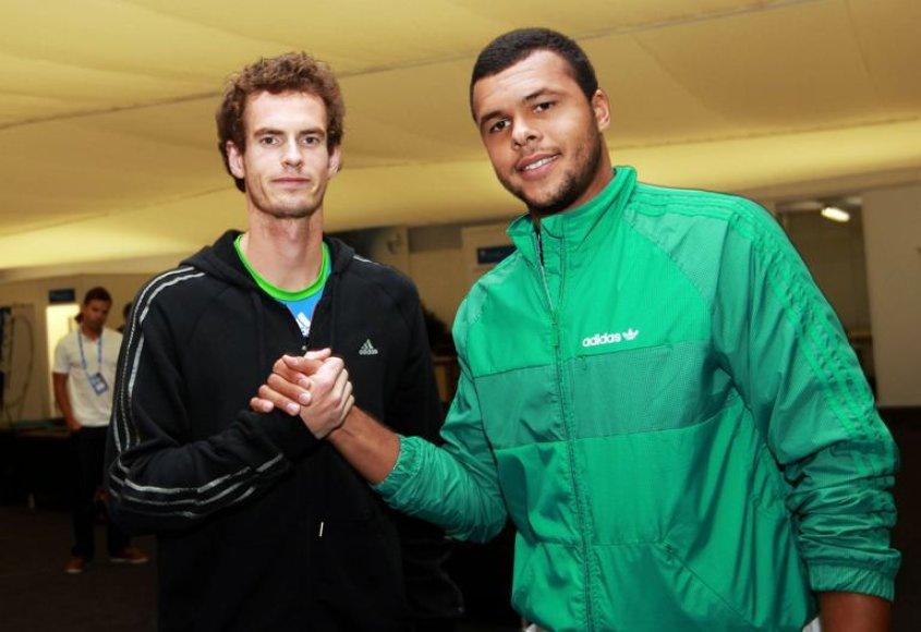 Andy Murray ir Jo Wilfred Tsonga
