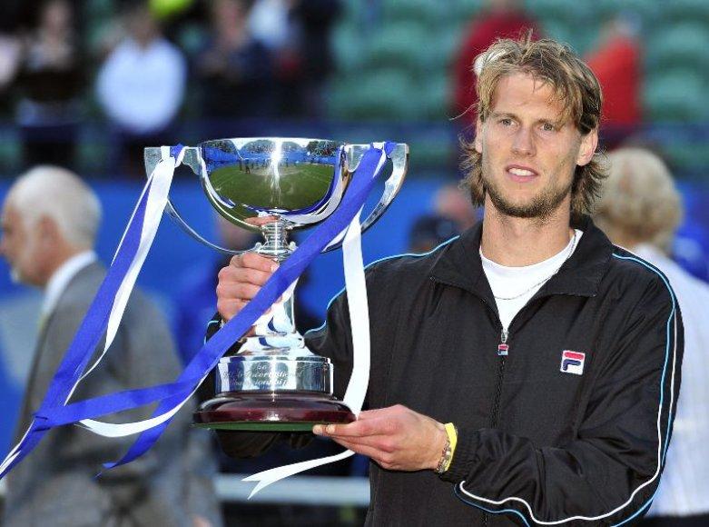 Andreas Seppis šiais metais laimėjo ATP 250 serijos turnyrą Istburne