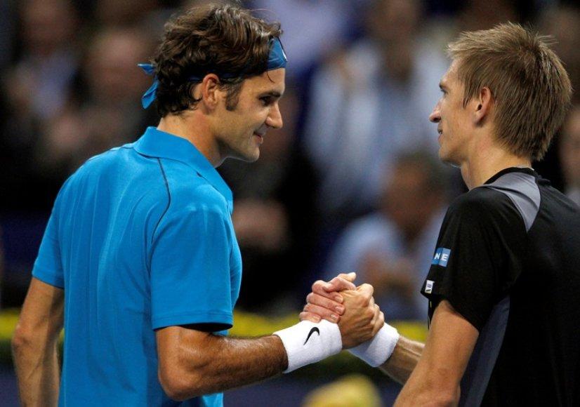 Rogeris Federeris ir Jarkko Nieminenas
