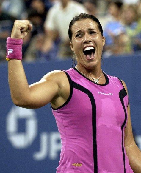 """Jenifer Capriati per karjerą laimėjo tris """"Didžiojo kirčio"""" turnyrus"""
