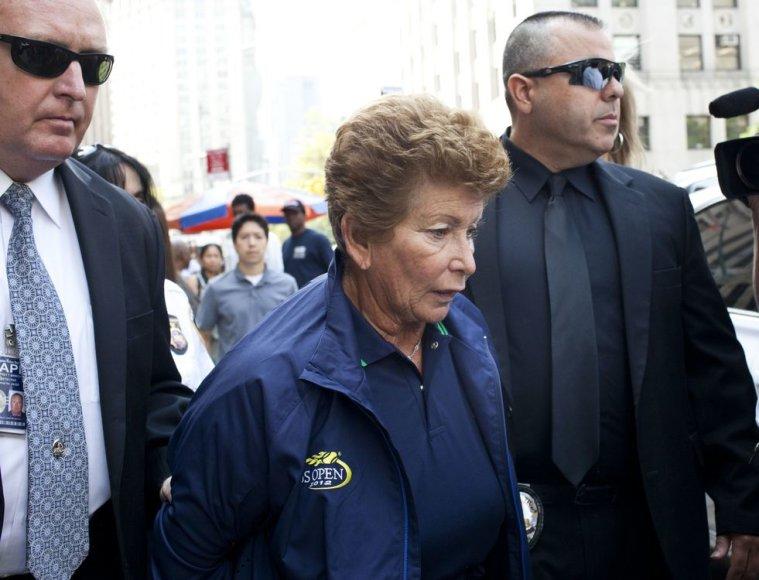 Loisa Goodman buvo suimta Niujorke rugsėjo mėnesį