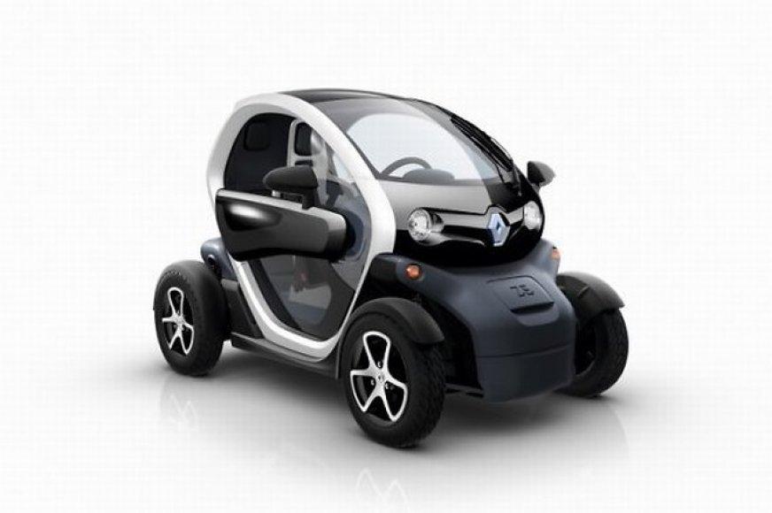 "Elektromobilis ""Renault Twizy"""