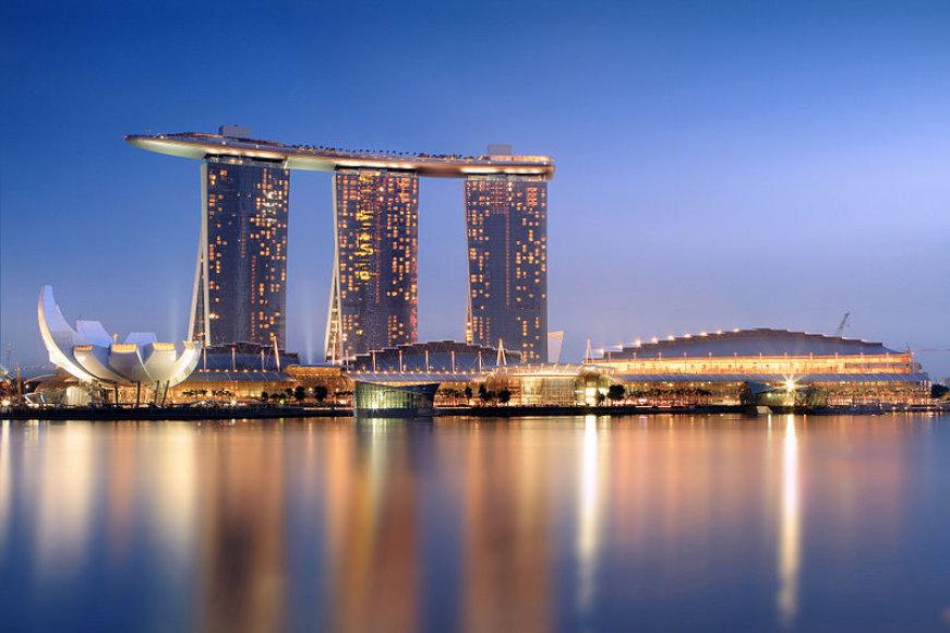 """""""Las Vegas Sand"""" pramogų kompleksas Singapūre"""