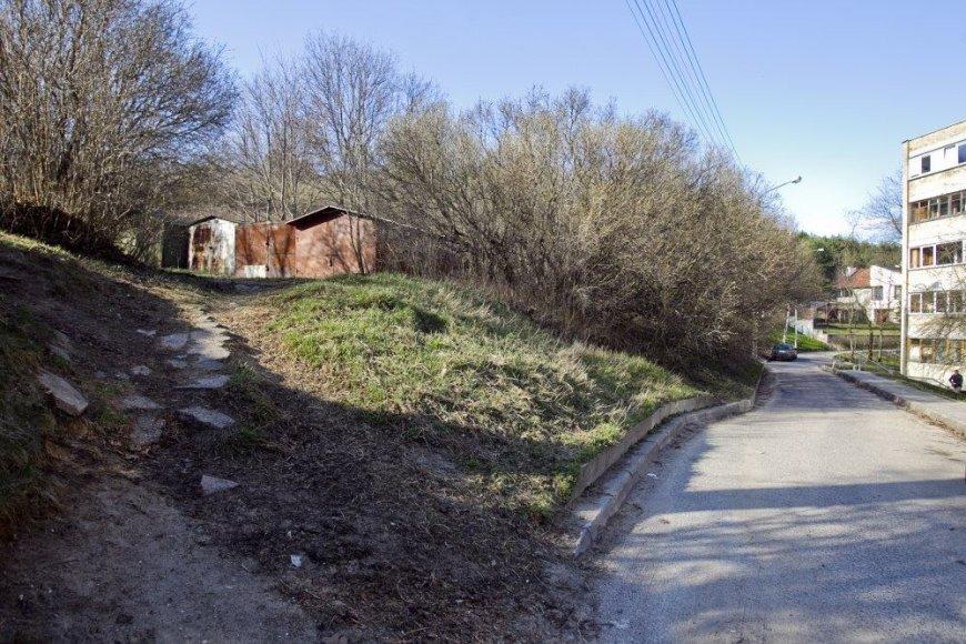 Ant kalno prie Dailidžių gatvelės turėtų išsitekti keturi daugiabučiai.