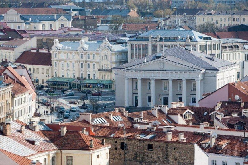 Vilnius iš aukštai