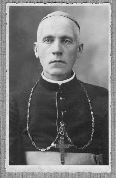 Kaišiadorių vyskupijos kurijos archyvo nuotr./Teofilius Matulionis 1933 m.