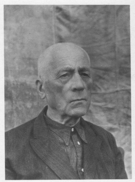 Kaišiadorių vyskupijos kurijos archyvo nuotr./Teofilius Matulionis apie 1955 m. Mordovijoje