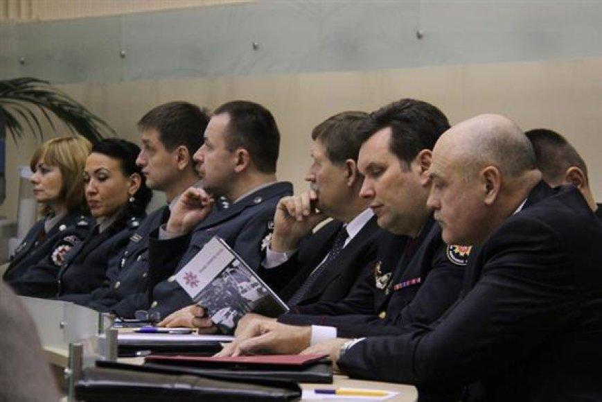 Kauno policijos pareigūnai