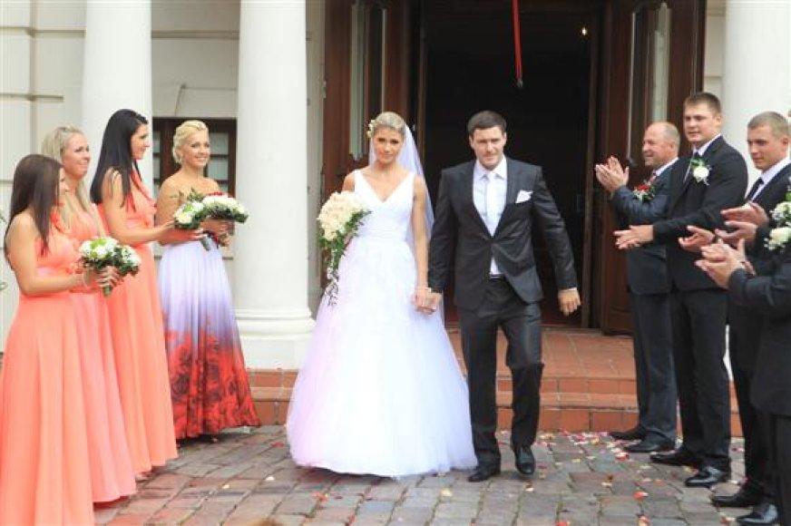 Tomas Gadeikis ir jo žmona Jovita