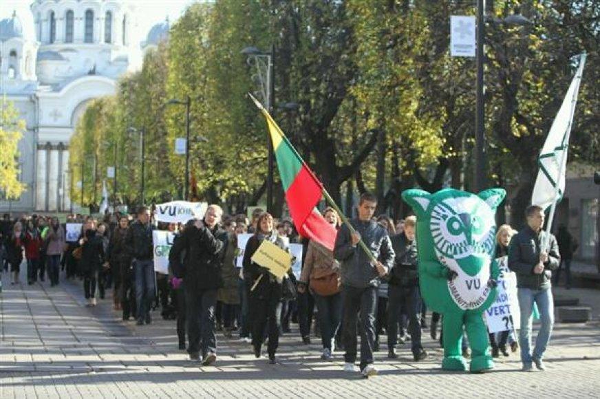 Studentų protesto eitynės