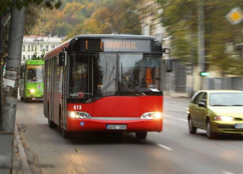 Kasdien į miesto gatves išvažiuoja apie 160 autobusų