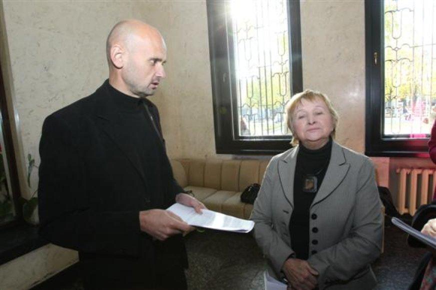 Iš socdemų traukiasi Gintautas Labanauskas ir Antanina Medvedevienė