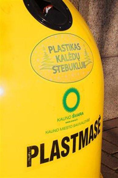 Konteineris plastikui