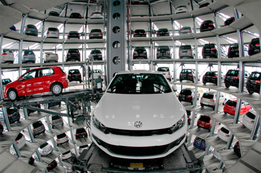 "Įspūdinga ""Volkswagen"" gamykla Wolfsburge"