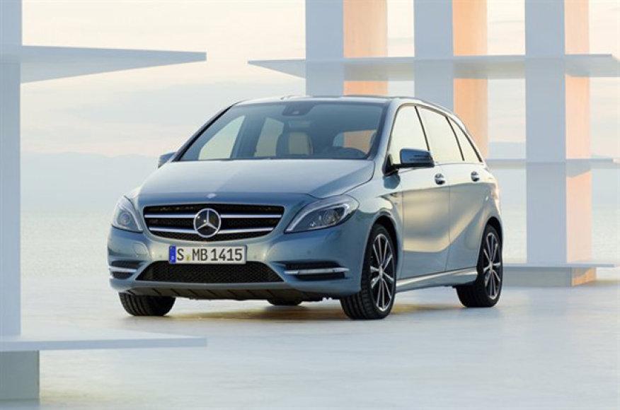"Naujasis B klasės ""Mercedes-Benz"""