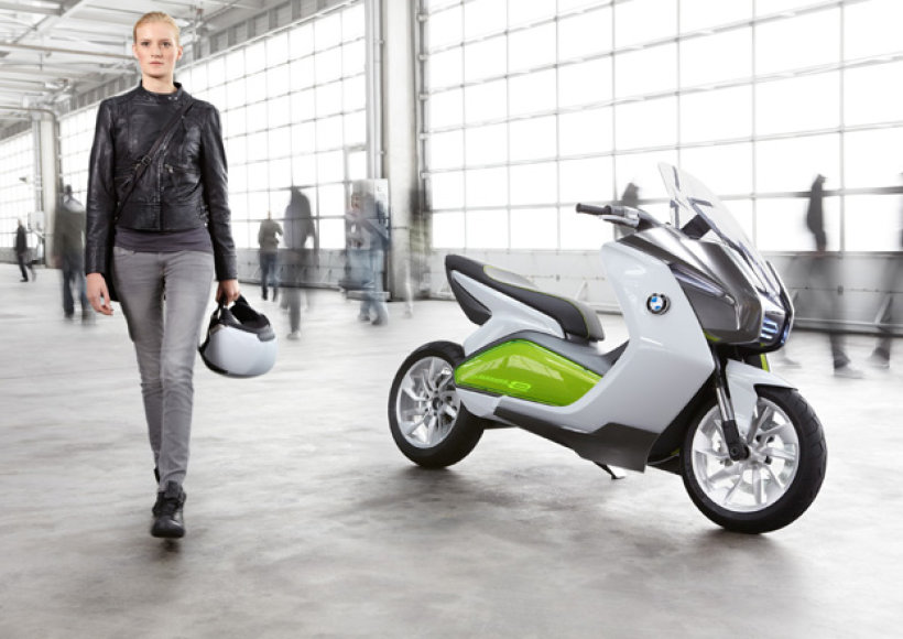 """BMW Motorrad Concept E"""