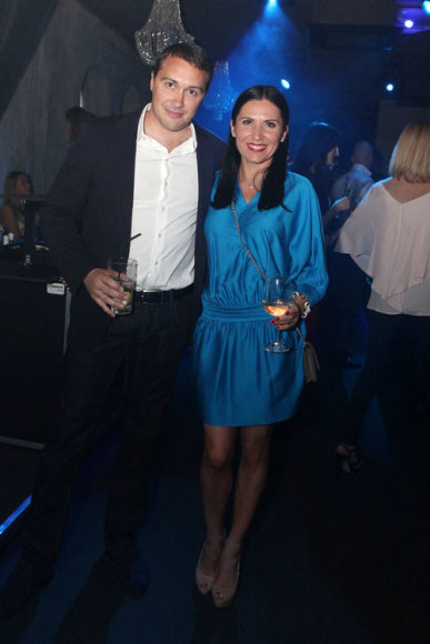 Jonas Garbaravičius su žmona Živile