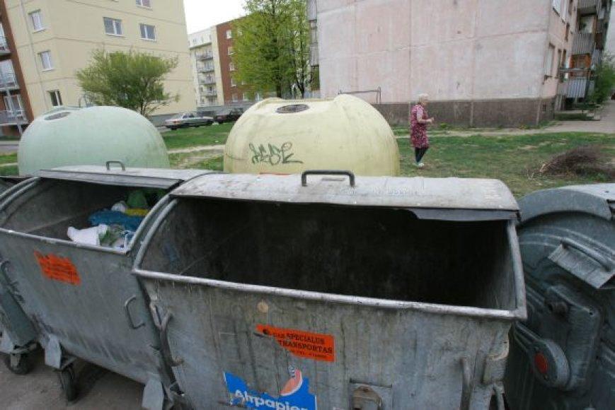 Įprasti metaliniai konteineriai netrukus taps patrauklesni.