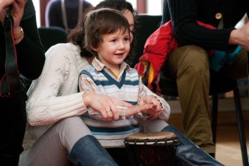 Koncertai vaikams sulaukia didelio susidomėjimo, nes tokių renginių Klaipėdoje trūksta.