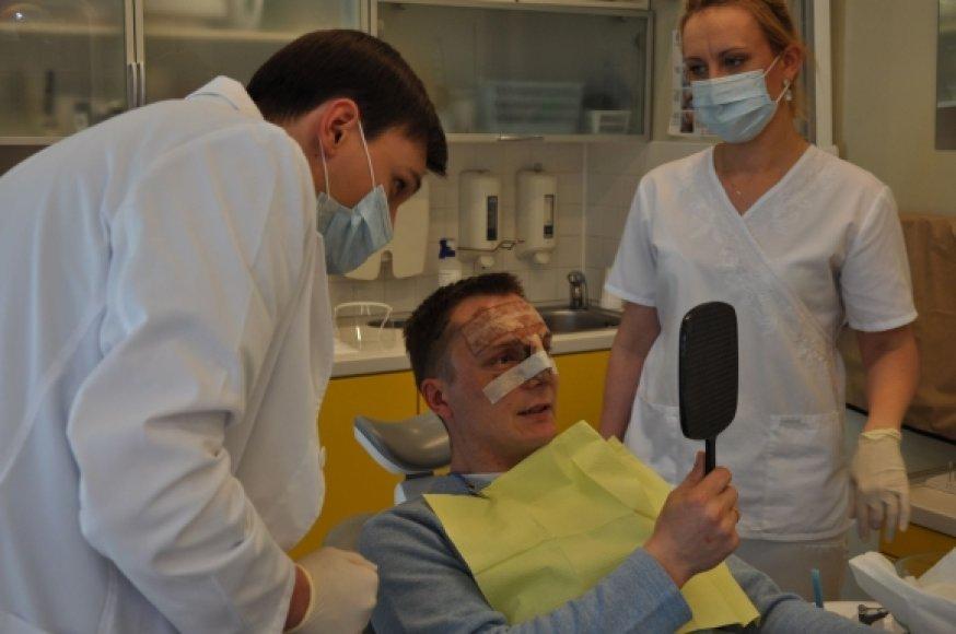 Vaidas pas odontologus