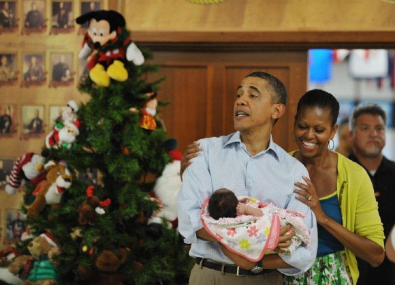 Baracko Obamos vizitas Havajuose