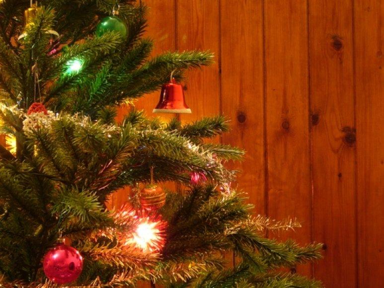 Kalėdų eglutė Ukrainoje