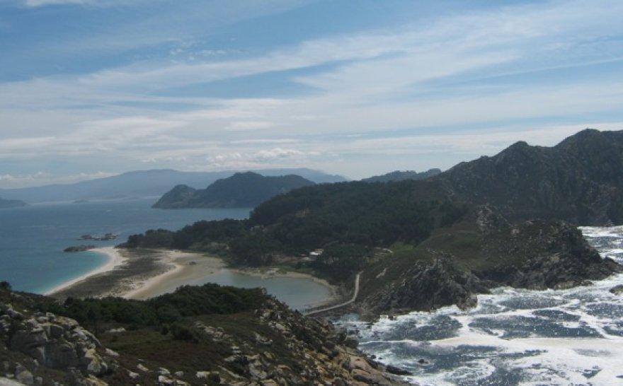 """""""Gražiausias"""" pasaulyje paplūdimys iš viršaus"""