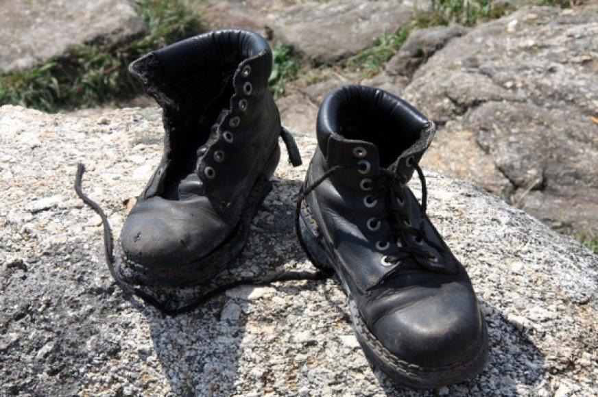 Užkietėjęs keliautojas ilgam batų ant vienies nekabins niekada