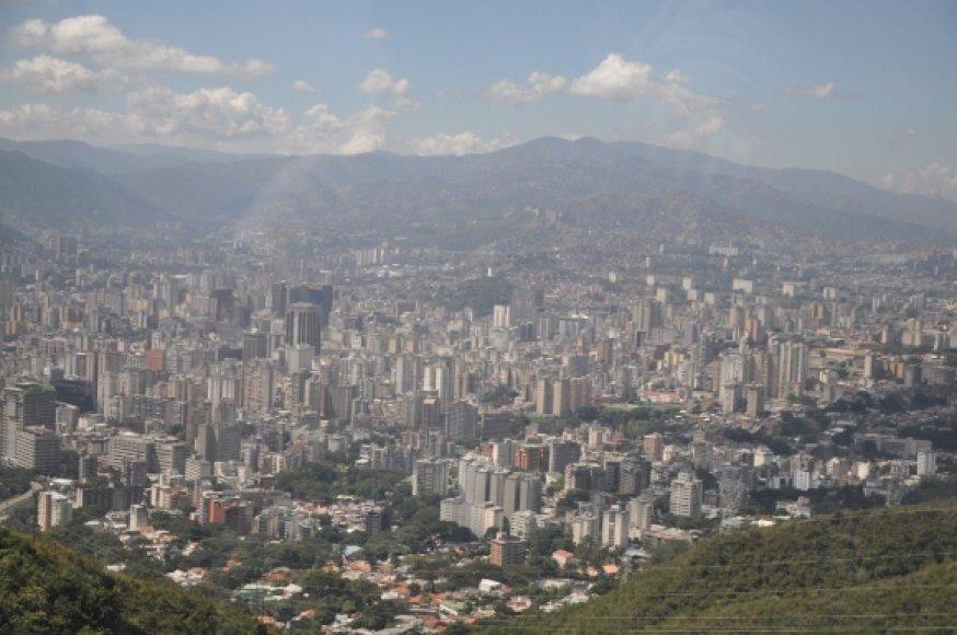 Karakasas iš viršaus