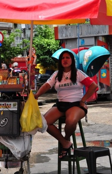 Brazilijos džiunglių miesto gyventoja