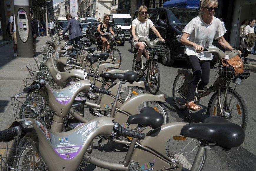 Pilkieji Paryžiaus dviračiai