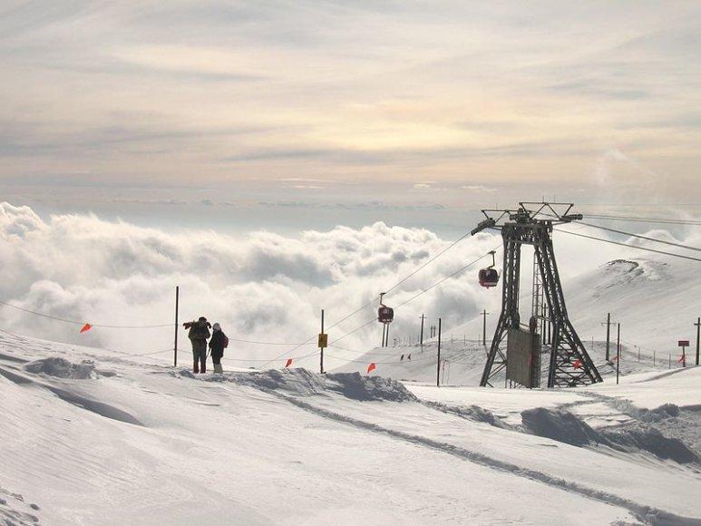 Točalis. 10 šilčiausių pasaulio kalnų slidinėjim