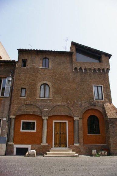 Romos miesto detalės