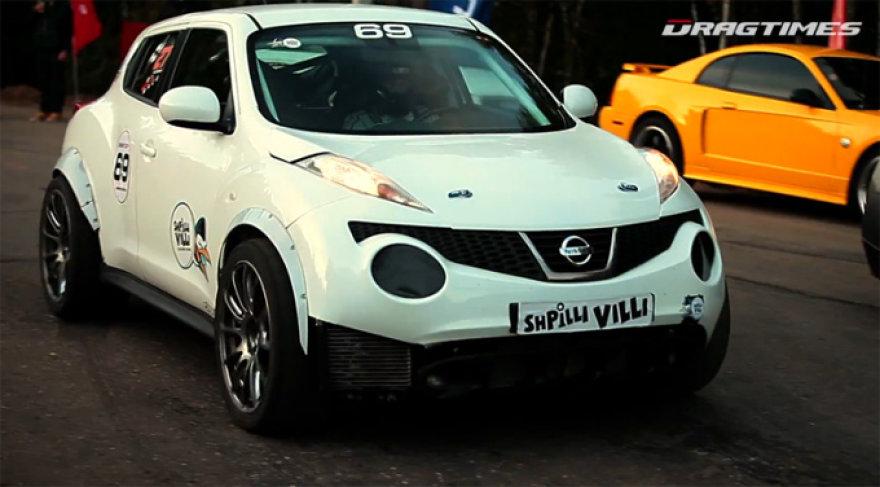"Savadarbis ""Nissan Juke R"""