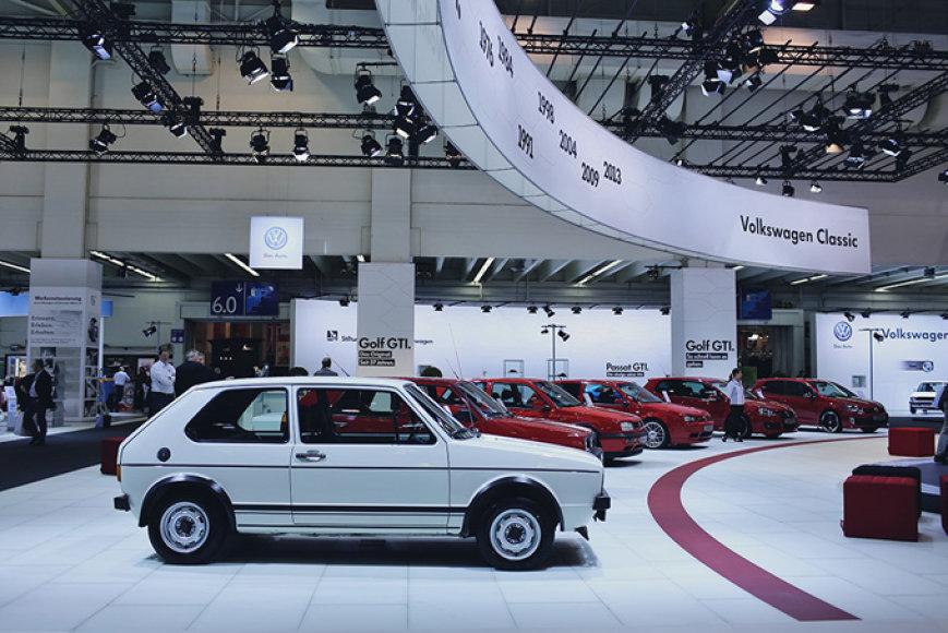 """""""Volkswagen Golf GTI"""" istorija"""