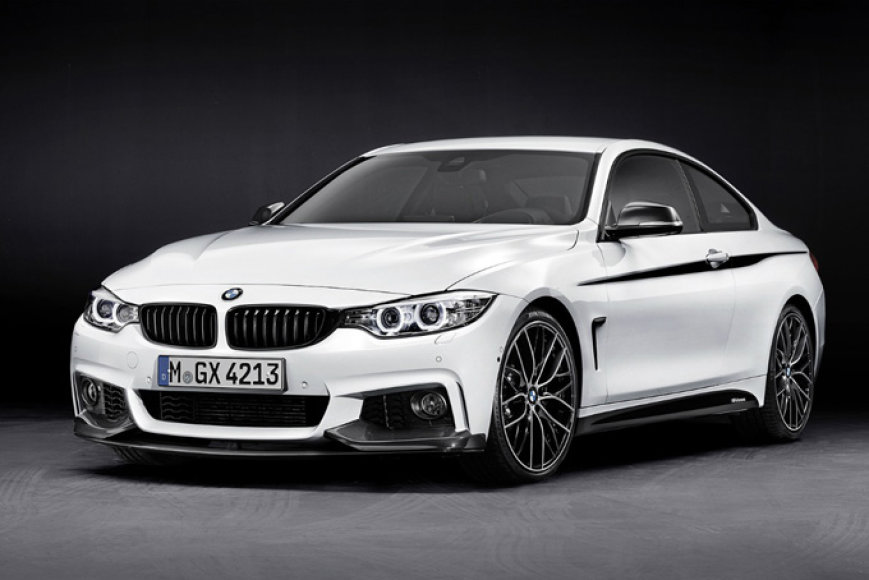 "4 serijos BMW su ""M Performance"" paketu"