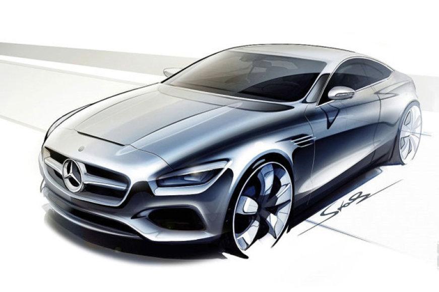 """S klasės """"Mercedes-Benz"""" kupė"""