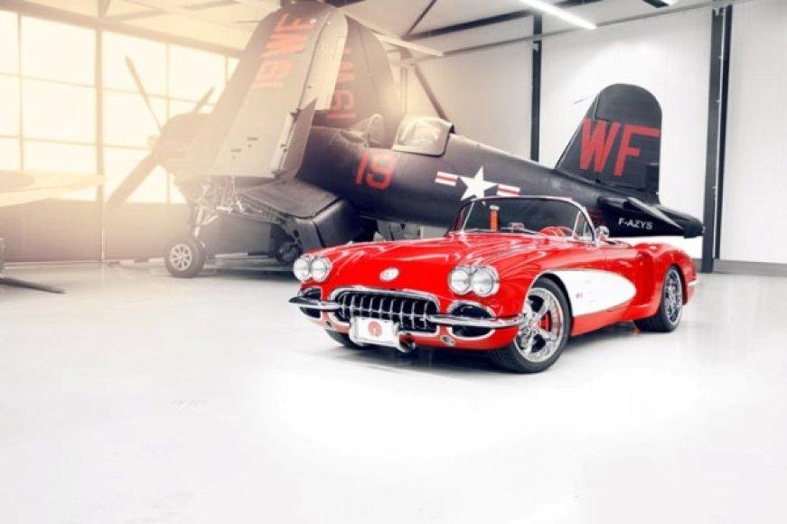 """""""Pogea Racing"""" kompanijos 1959 m. """"Chevrolet Corvette"""""""