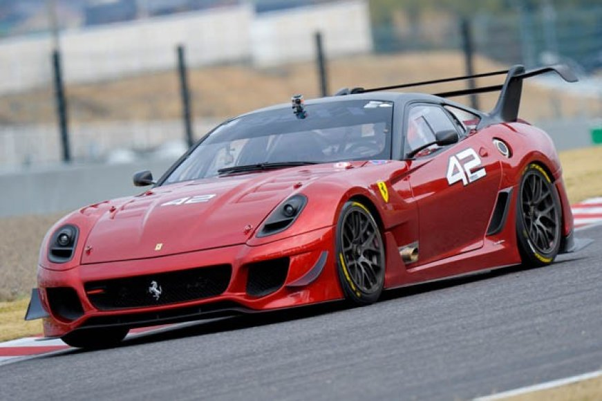 """Ferrari 599XX Evoluzione"" debiutas ""Suzuka"" trasoje"
