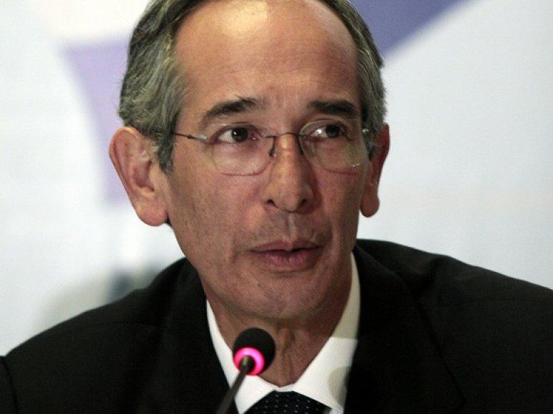 Gvatemalos prezidentas Alvaro Colomas