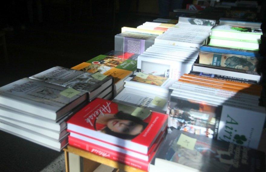 Mugėje – knygos ir už 50 centų