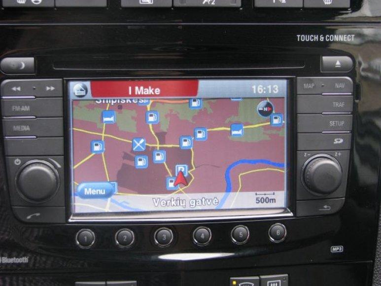"""Opel Corsa"" navigacinė įranga"