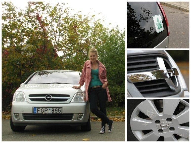 "Garažas: Viktorijos ""Opel Meriva"""