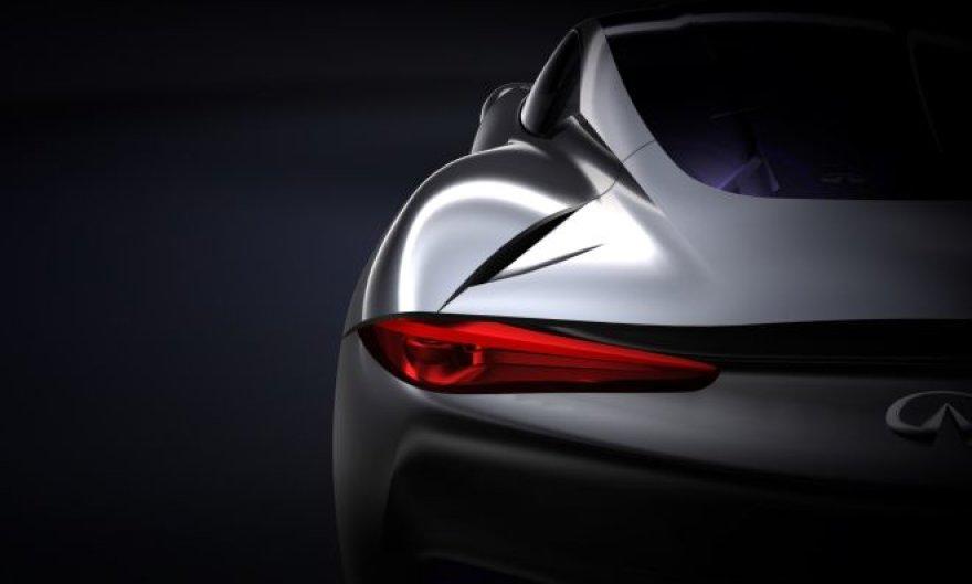 """""""Infiniti"""" konceptinis sportinis automobilis"""