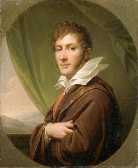 Portrait of Franciszek Sapieha by Johann Baptist Lampi
